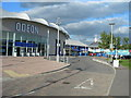 TQ7669 : Chatham Maritime - Odeon Cinema and Dickens World by Danny P Robinson