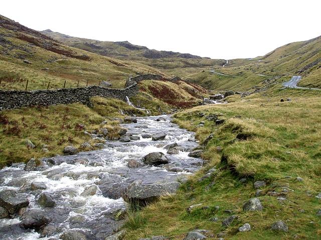 River Duddon, Wrynose Pass