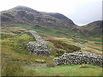 NY2101 : Hardknott Fort Entrance & Pass by Rob Farrow