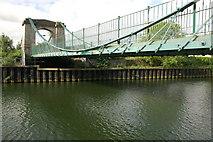 ST7465 : The Victoria Suspension Bridge, Bath by Philip Halling