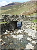 NY2114 : Bridge over Gatesgarthdale Beck, Honister Pass by Rob Farrow
