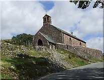 NY1717 : Parish church of St. James, Buttermere by Rob Farrow