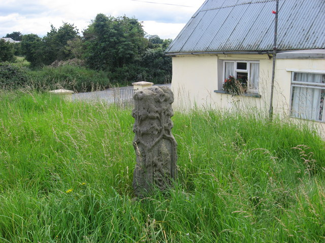 Wayside cross at Sarsfieldstown, Co. Meath