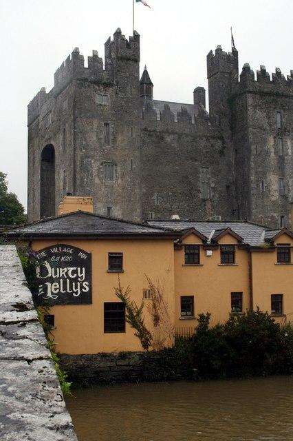 Castle and pub