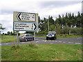 NZ0489 : Rothley Cross Roads by Walter Baxter