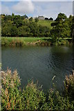 ST7065 : River Avon and Kelston Park by Philip Halling