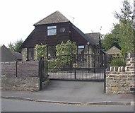 SE1926 : Former Congregational Chapel, Drub Lane, Gomersal by Humphrey Bolton