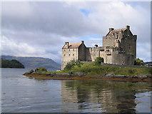 NG8825 : Eilean Donan Castle by Angela Tuff