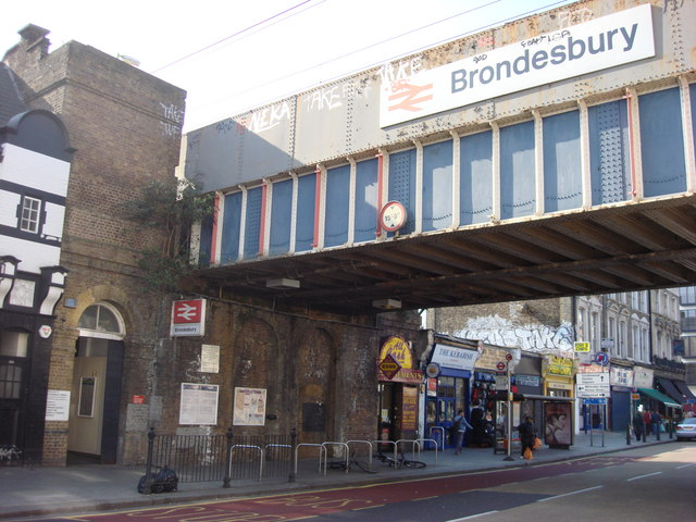 Brondesbury London Train Station