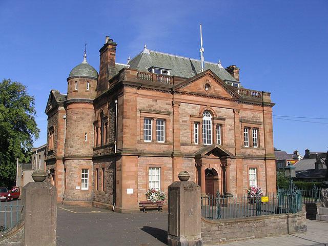 Victoria Halls, Selkirk