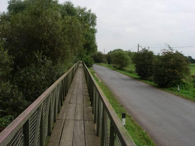 Causeway at Sutton Gault