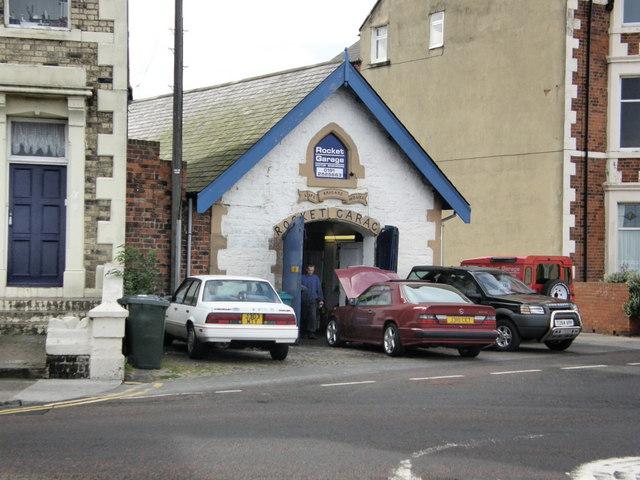 Rocket Garage Cullercoats (Life Brigade House)