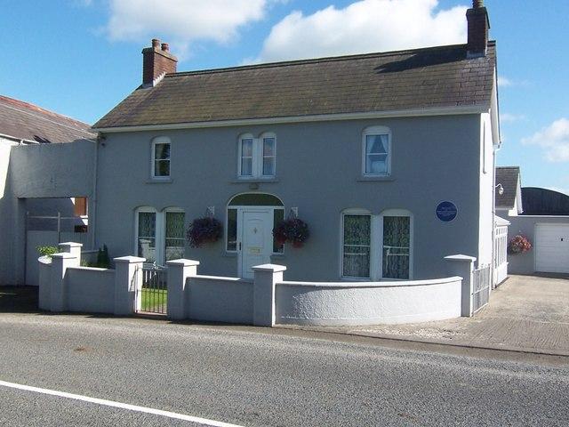 Harry Ferguson's birthplace