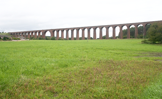 Clava Viaduct over the River Nairn