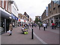 TL0449 : Silver Street, Bedford by M J Richardson