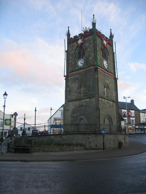 Coleford clock tower