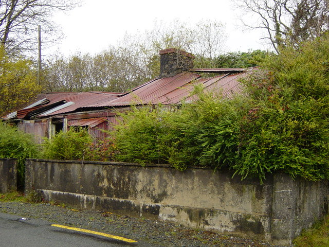Tommy Joyce's Cottage - Recess - Lios Uachtair Townland