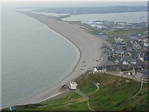 SY6873 : Chesil Cove by Andrew Smith