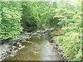 SJ0900 : River Rhiw by James Allan
