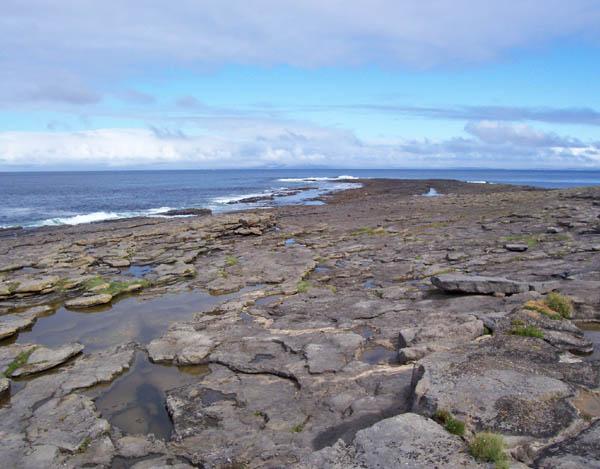 Rock outcrop, Streedagh Point
