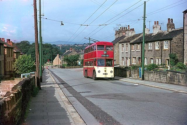 British Trolleybuses - Huddersfield