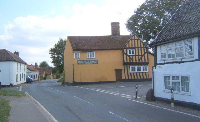 Village scene, Somersham
