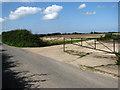 TG1427 : Concrete tracks at RAF Oulton by Evelyn Simak