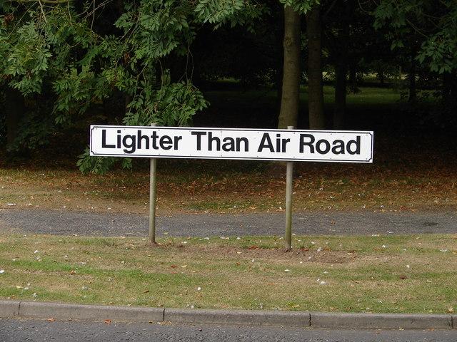 Lighter Than Air Road, RAF Cranwell