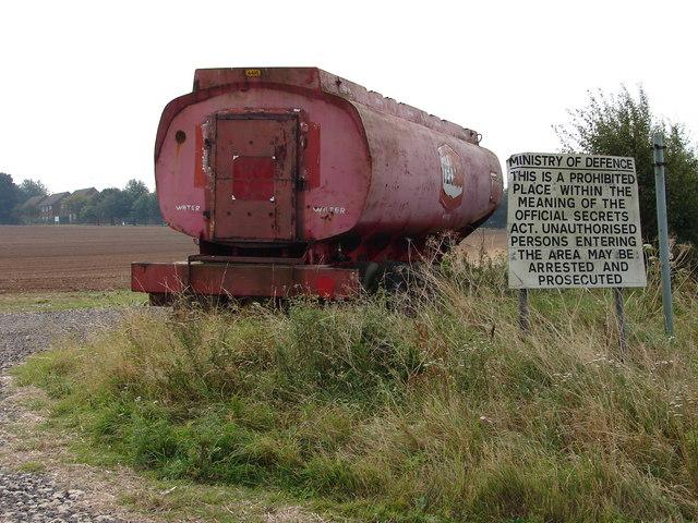 Texaco Water Tank