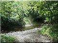 SJ1402 : Ford on the Afon Rhiw by James Allan