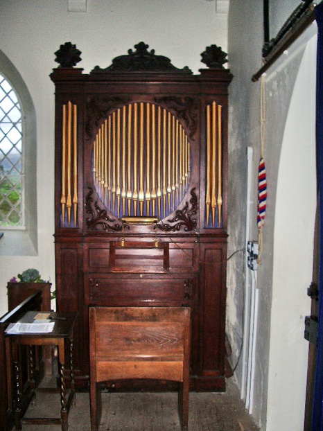 The Parish Church of St James, Buttermere, Organ
