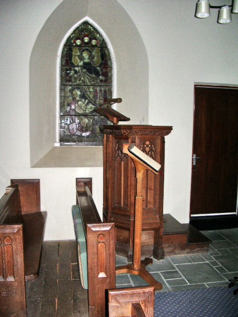 The Parish Church of St James, Buttermere,  Pulpit