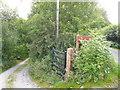 SK3167 : Harewood Road - Junction with Bridleway by Alan Heardman