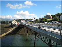 SH5873 : Bangor Pier and The Garth by David Stowell