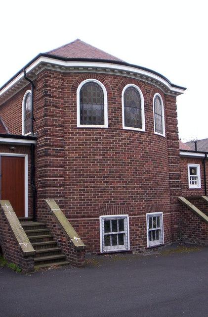 East end, St James church, Eccleston Park