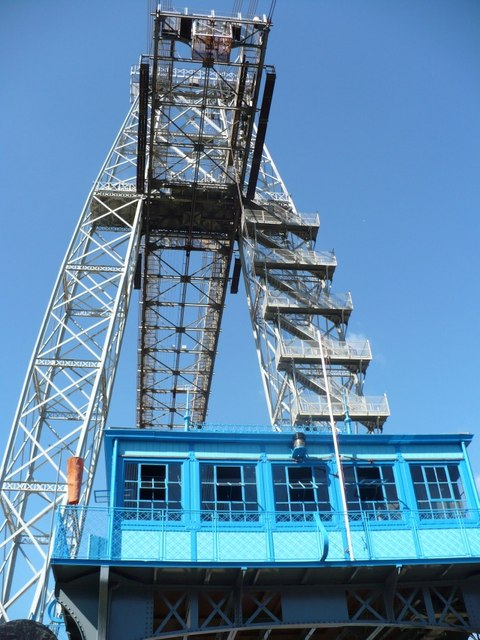 Newport Transporter Bridge engine room