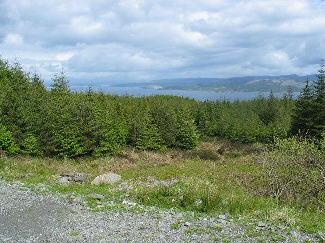 Kintyre Way, Tarbert to Claonaig.