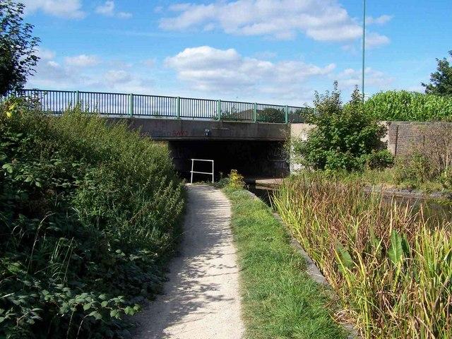 Walsall Wood Bridge, Daw End Canal