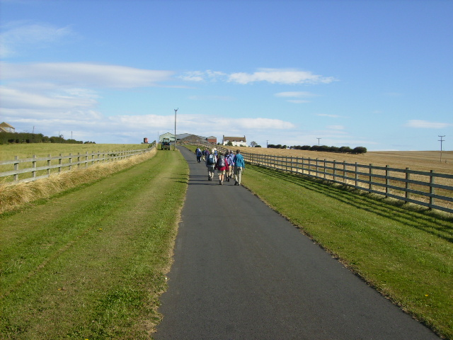 A good tarmac track up to Redcliffe Farm