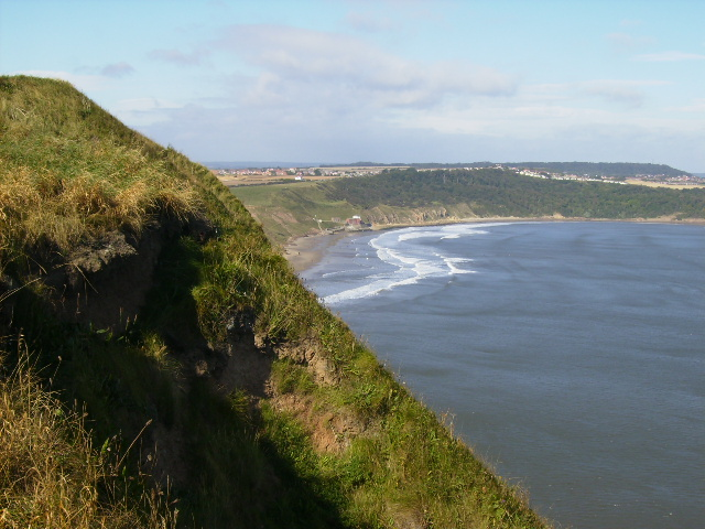 Cayton Bay seen from Lebberston Cliff