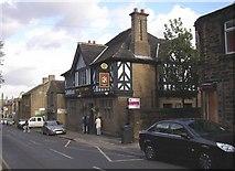 SE1614 : The Radcliffe Arms, Westgate, Almondbury by Humphrey Bolton