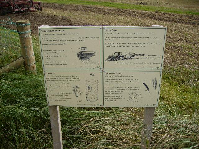 Information Board near Lingham Court