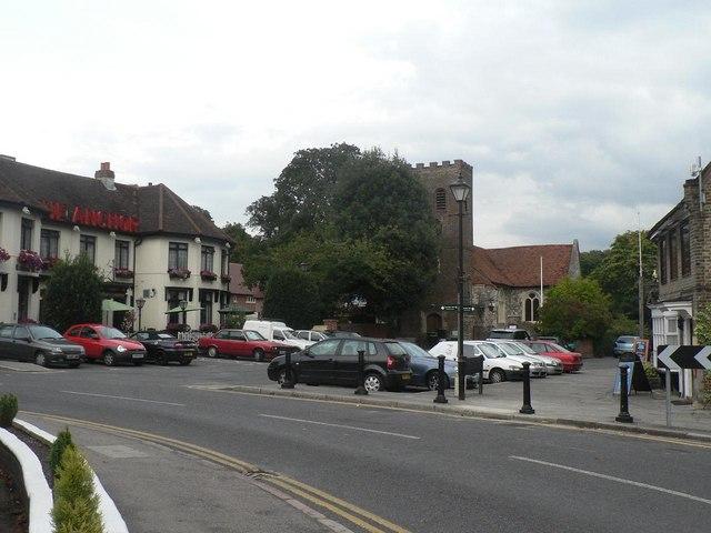 Shepperton: Church Square