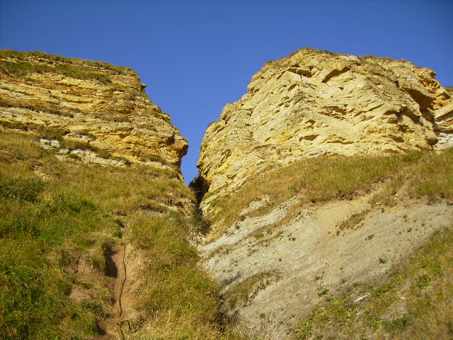 The cliff at Cunstone Nab