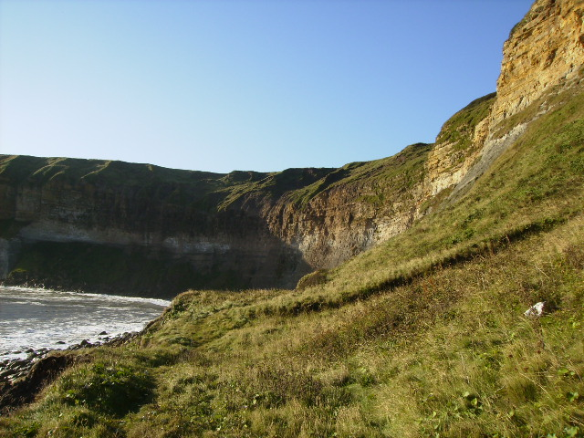 Unstable coastal area in gridsquare TA1083