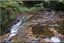J3996 : Glenoe waterfall (21) by Albert Bridge