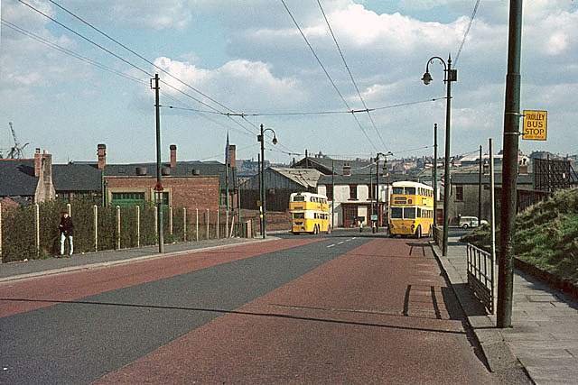British Trolleybuses - Newcastle upon Tyne