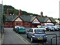 NS2577 : Fort Matilda railway station by Thomas Nugent