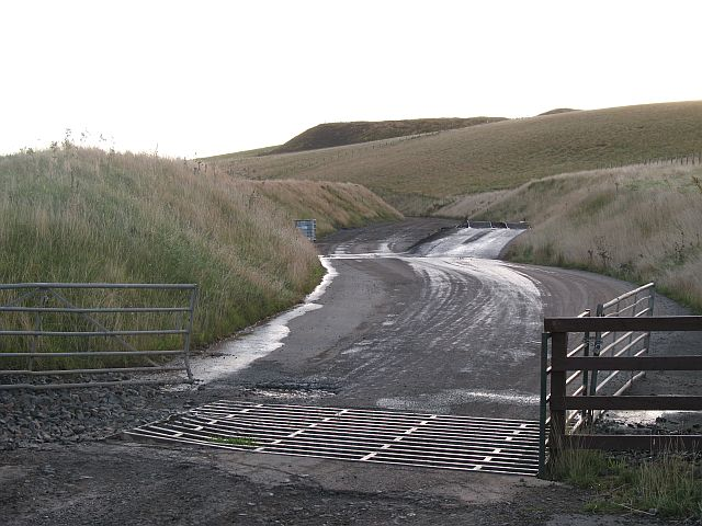 Soutra quarry - new road