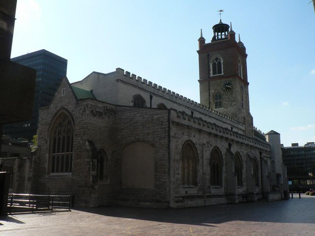 City parish churches: St. Giles Cripplegate